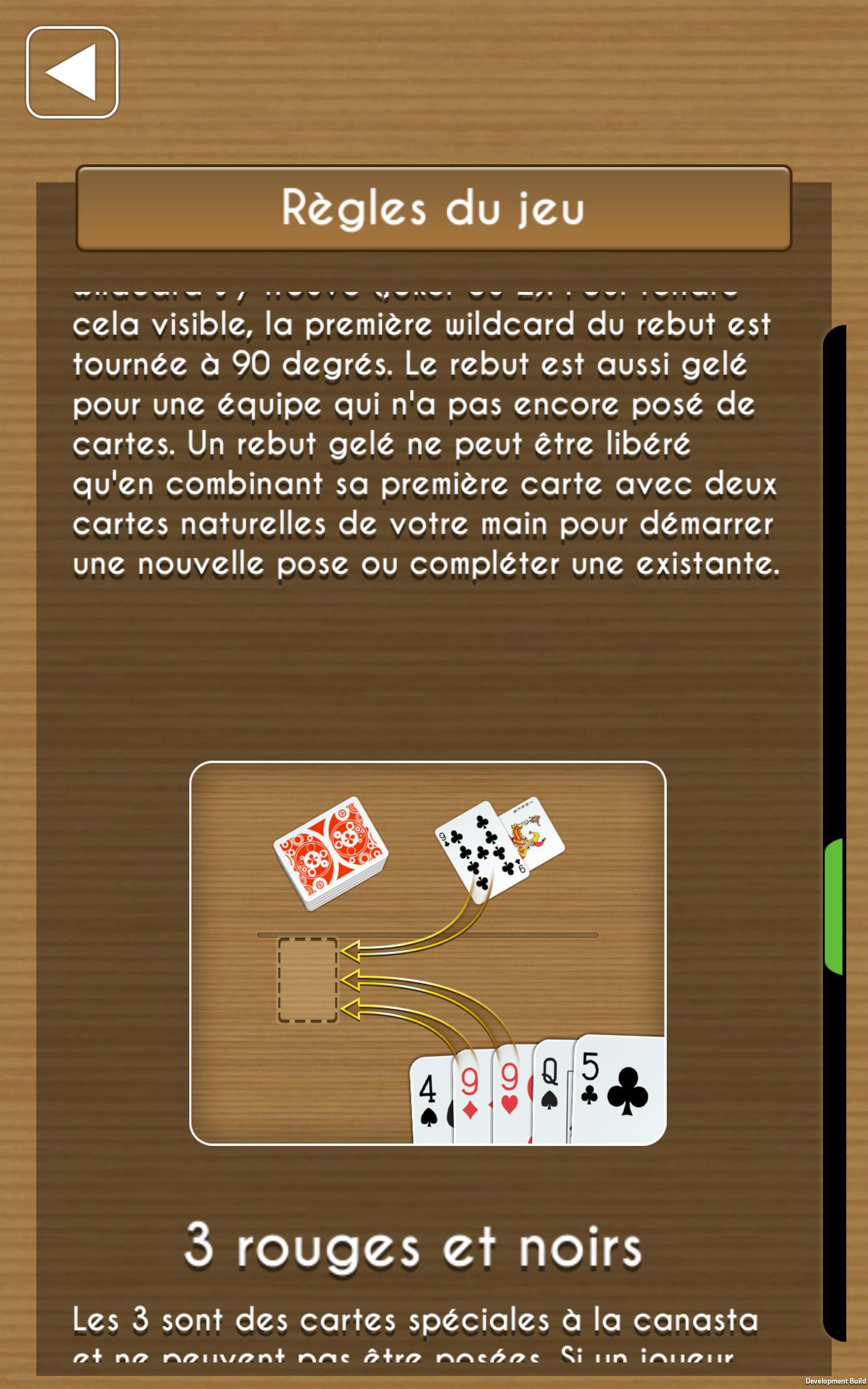 Canasta Pour Android - Téléchargez L'apk pour 90 Degrés Jeux