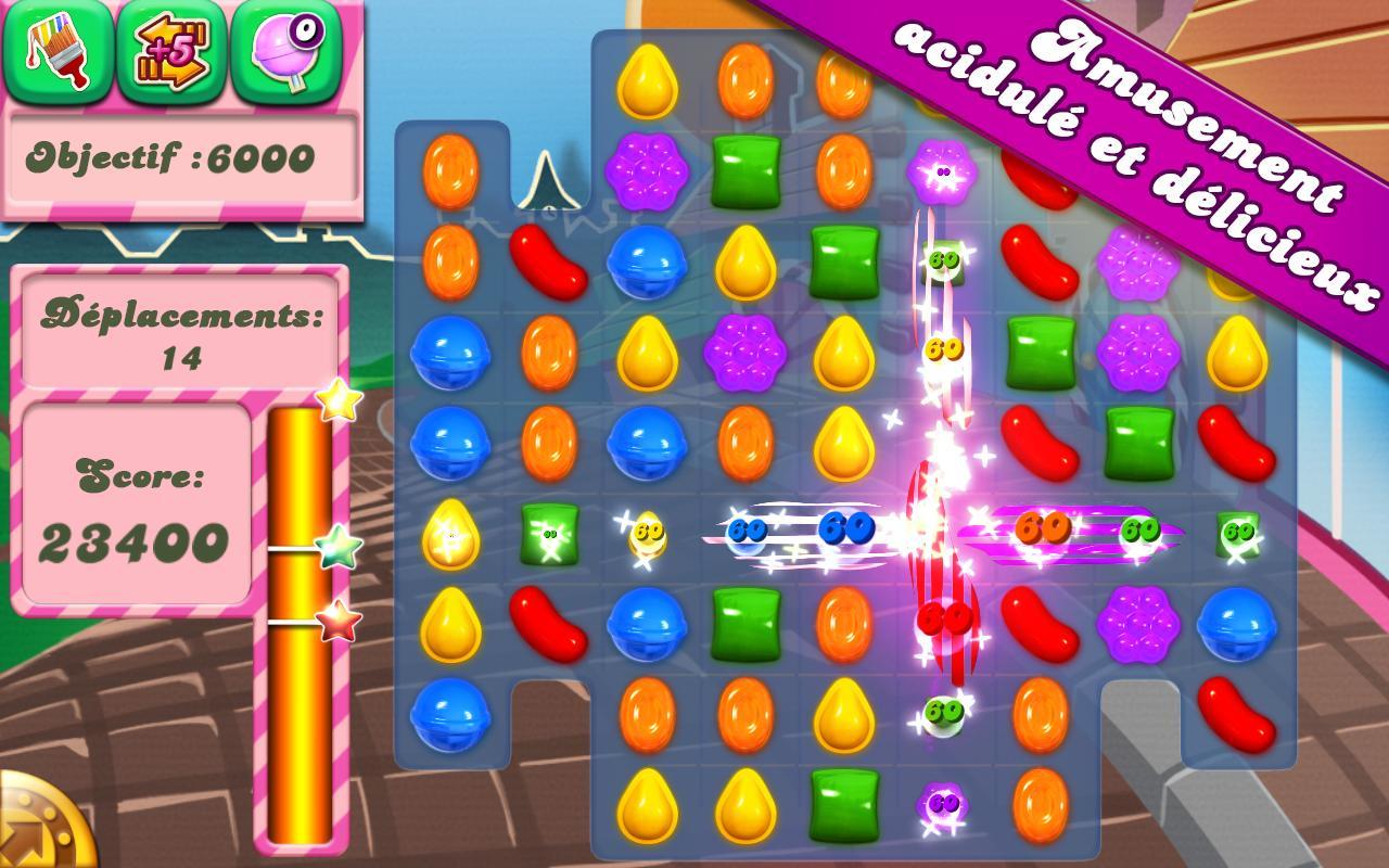 Candy Crush Saga Android Passe En 1.22 Sur Le Play Store pour Jeux Gratuits À Télécharger Pour Tablette