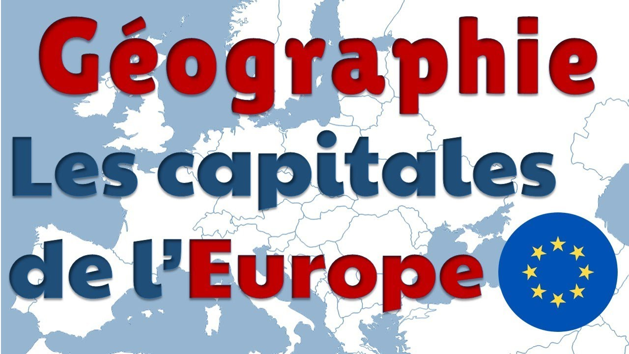 Capitals Of European Countries In French serapportantà Apprendre Pays Europe