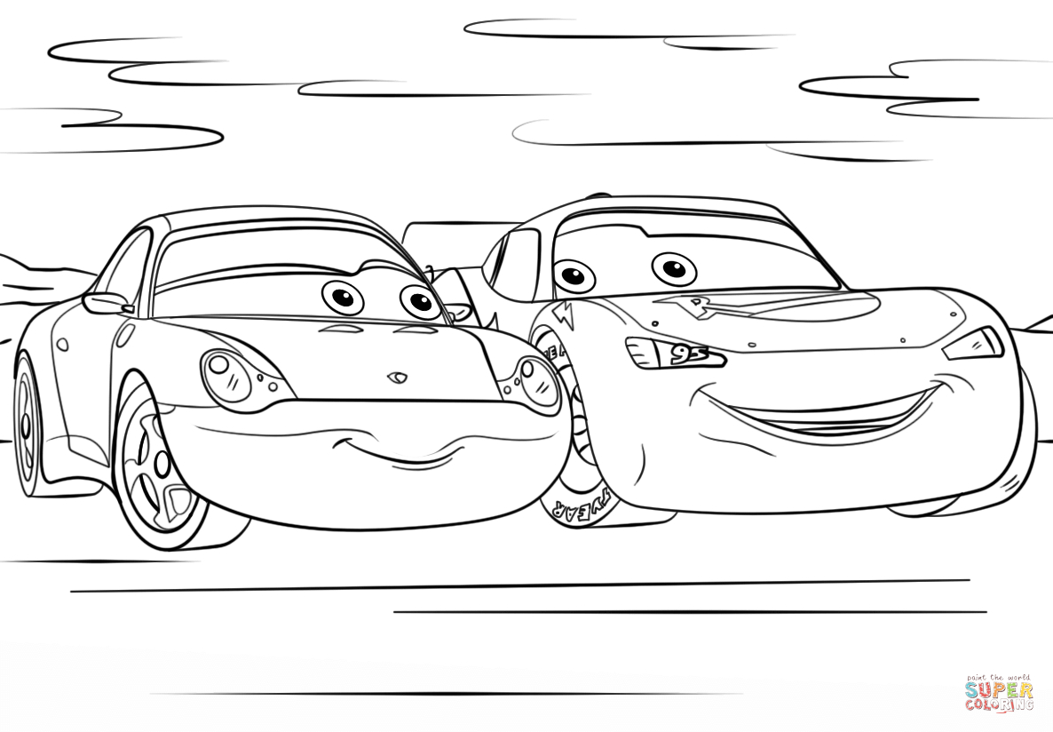 Car Mcqueen Coloring Pages Lightning Mcqueen Coloring Pages destiné Coloriage De Flash Mcqueen