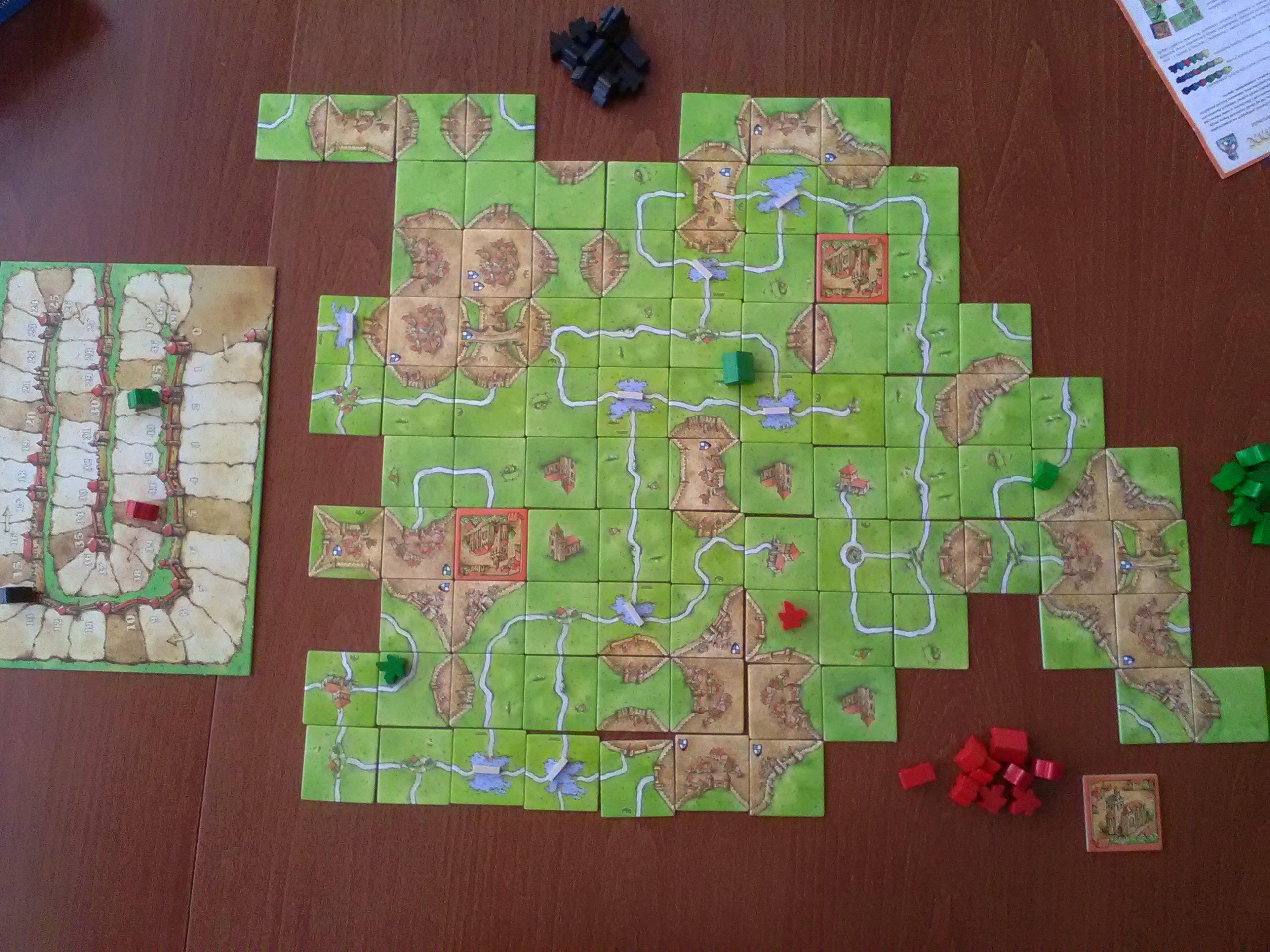 Carcassonne (Jeu) — Wikipédia à Jeux Des Villes De France