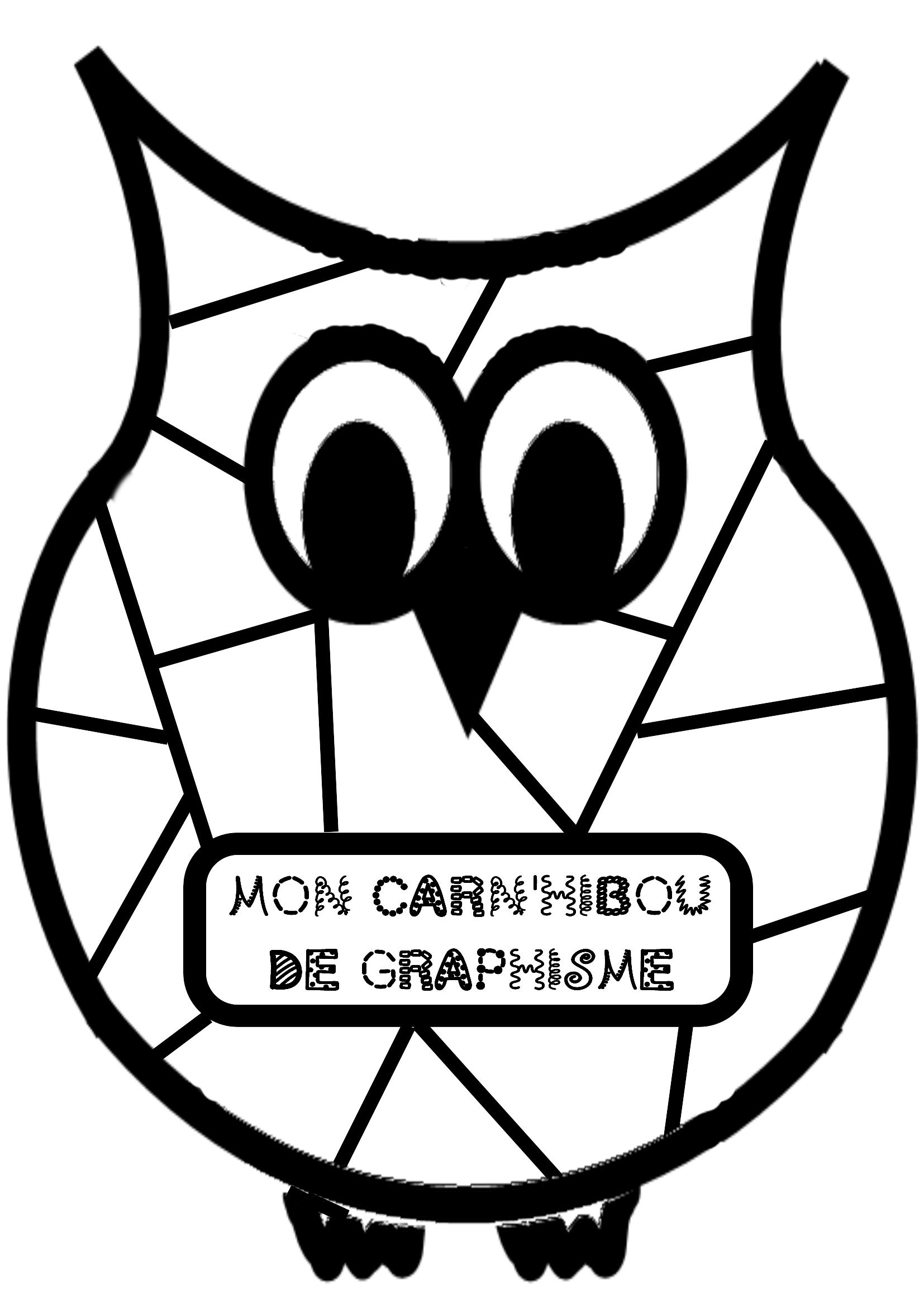 Carn'hibou De Graphisme - La Classe De Jenny pour Livre Graphisme Maternelle