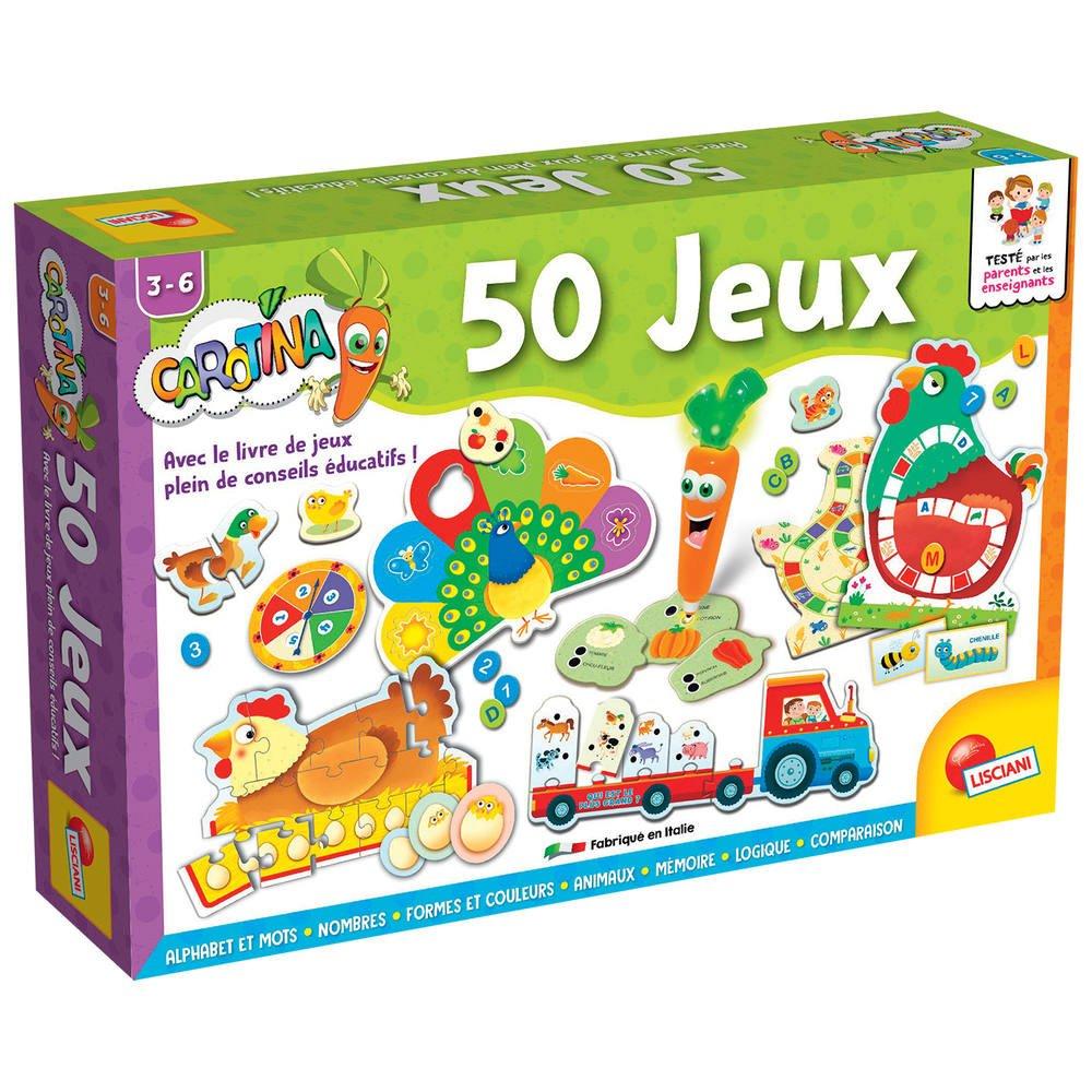 Carotina 50 Jeux intérieur Jeux Educatif 9 Ans
