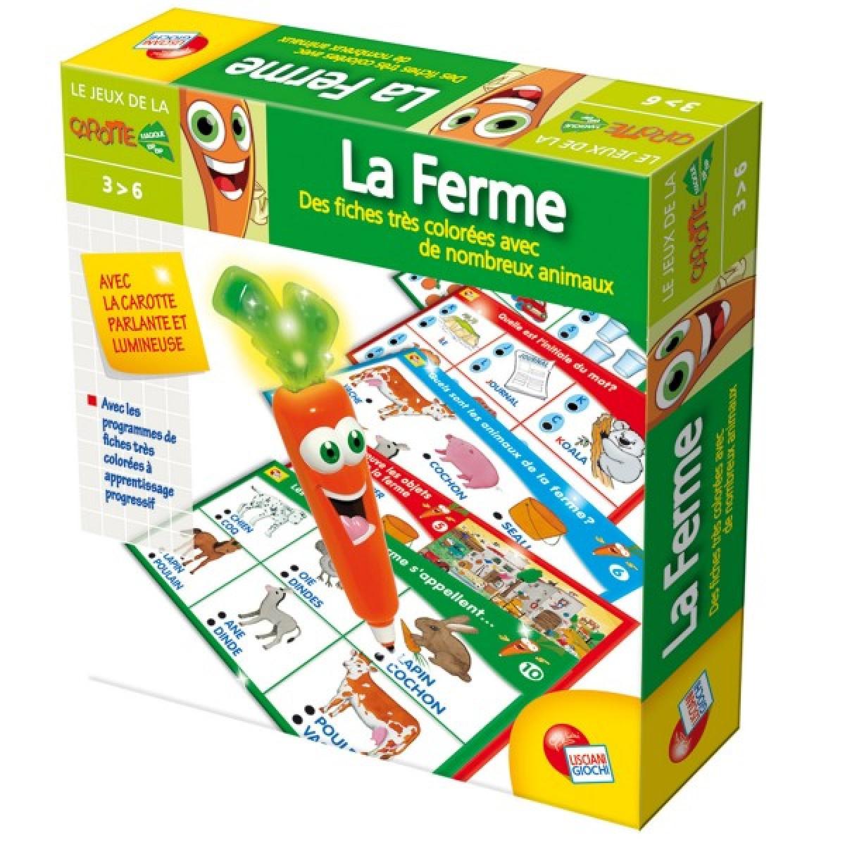 Carotina Jeux De Base : La Ferme De Lisciani pour Jeux Les Animaux De La Ferme