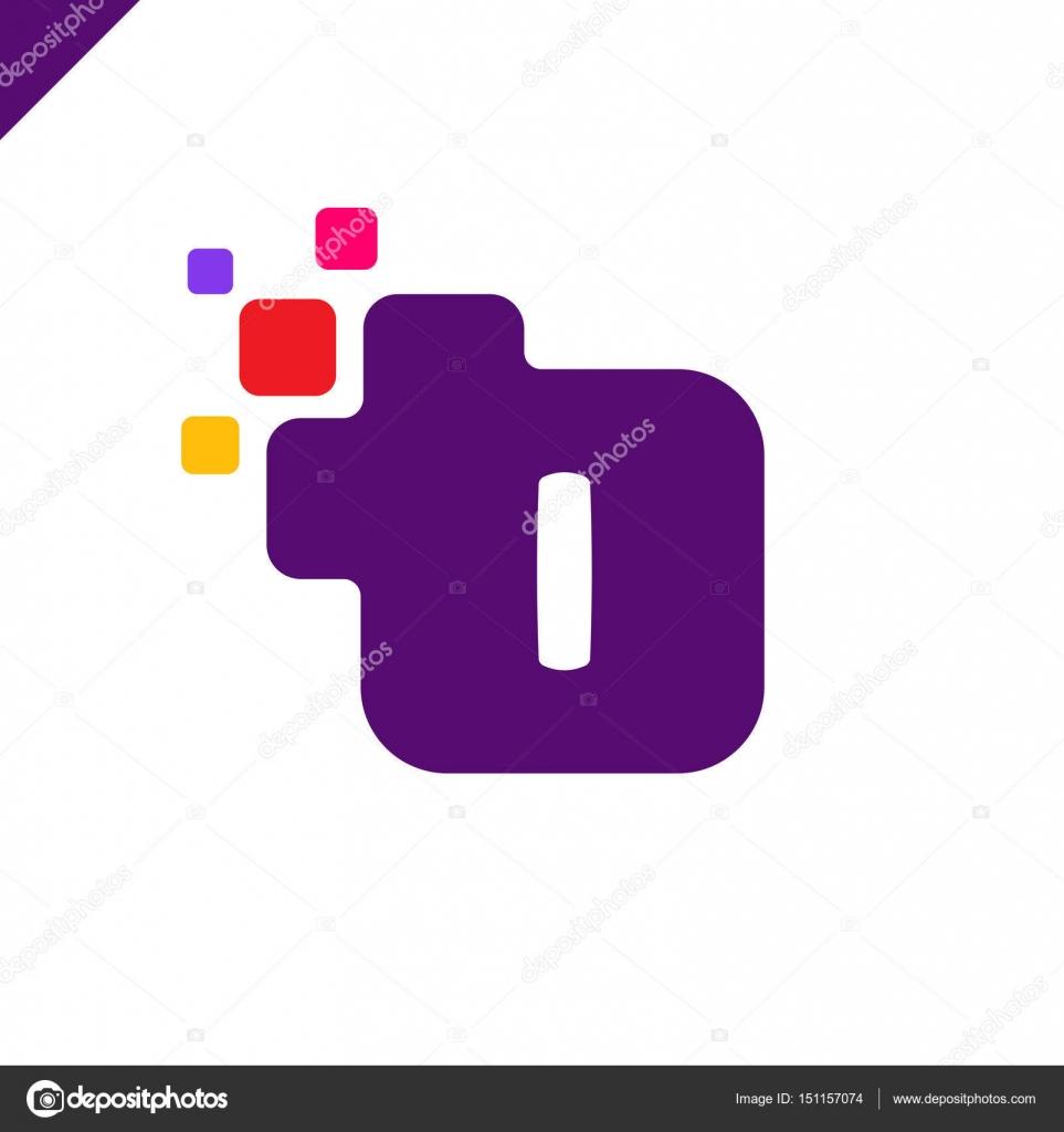 Carré Entreprise Affaires Lettre I Police Logo Design destiné Modèle D Alphabet