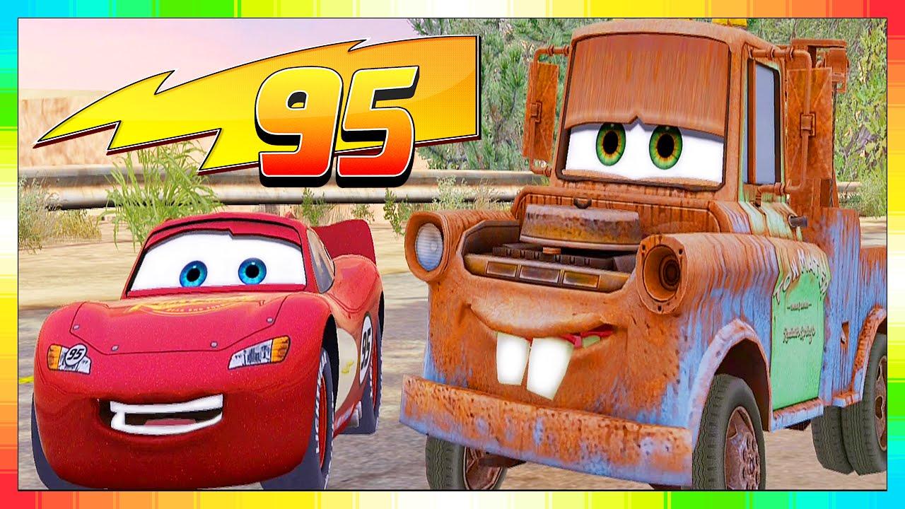 Cars 3 2 1 - Les Bagnoles - Quatre Roues - Français -- Movie -- 1 Sur 6 --  Flash Mcqueen & Martin pour Flash Mcqueen Martin