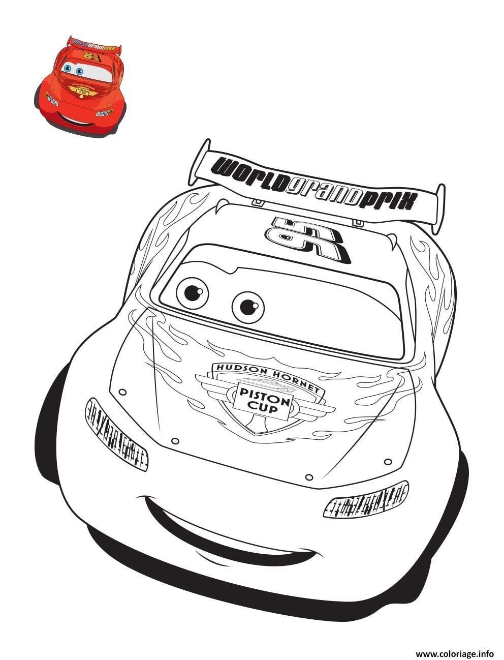 Cars 3 Flash Mcqueen Confiant Pour La Course De Voiture tout Coloriage De Flash Mcqueen