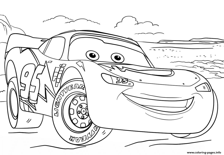 Cars Disney Coloring Pages dedans Coloriage De Flash Mcqueen