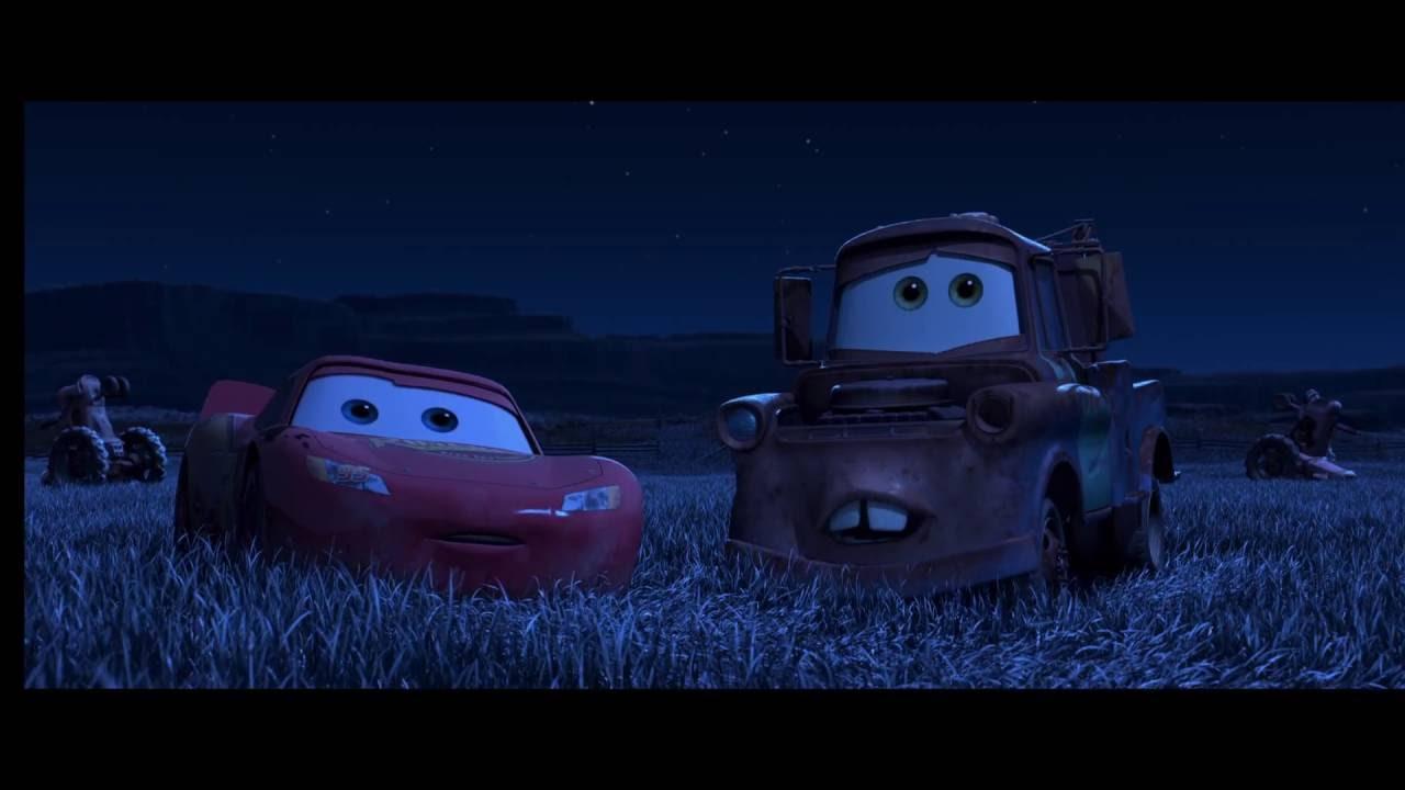Cars | Extrait : Blagues Aux Tracteurs 2 | Disney Be intérieur Flash Mcqueen Martin