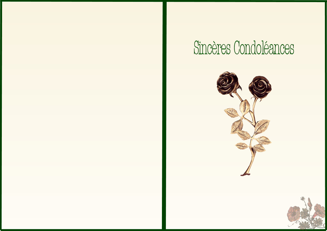 Carte Condoléances À Imprimer concernant Mots Coupés À Imprimer