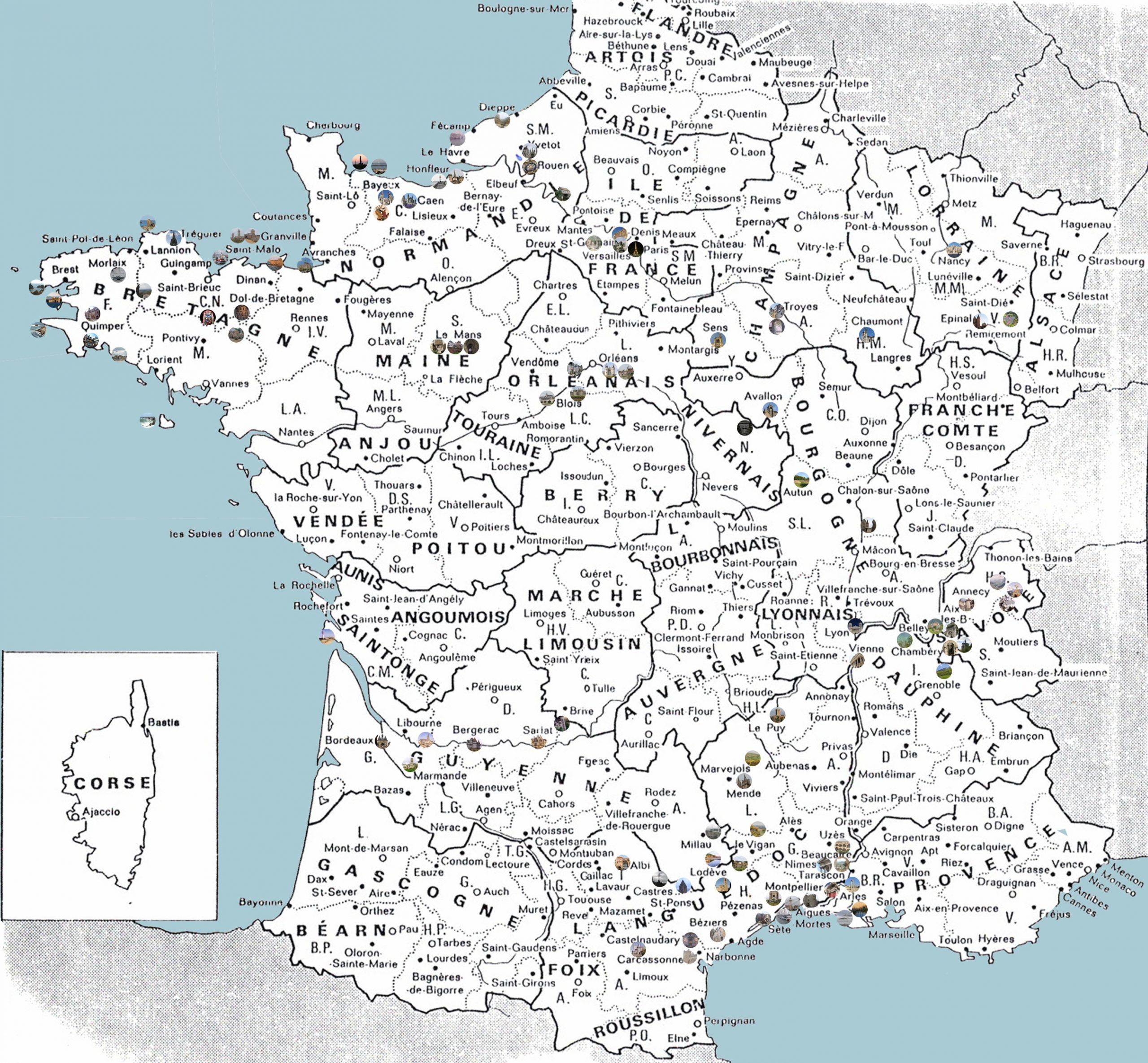 Carte De France avec Carte De France Grand Format