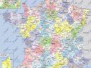 Carte De France Départements Villes Et Régions | Arts Et tout Carte De La France Par Département