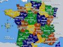 Carte De France Departements Villes Et Regions | Carte De avec Carte France Avec Region
