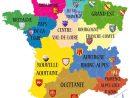 Carte De France Des Régions En 2020 intérieur Carte Vierge Des Régions De France