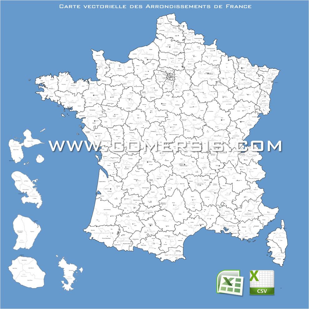 Carte De France intérieur Carte Departement Numero