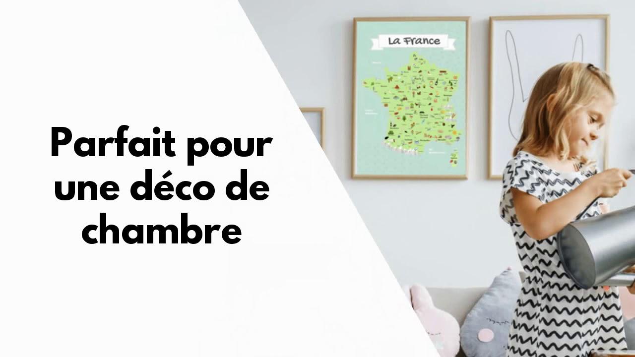 Carte De France Pour Enfants dedans Carte De France Pour Enfant