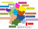 Carte De France Région concernant Carte Nouvelle Region