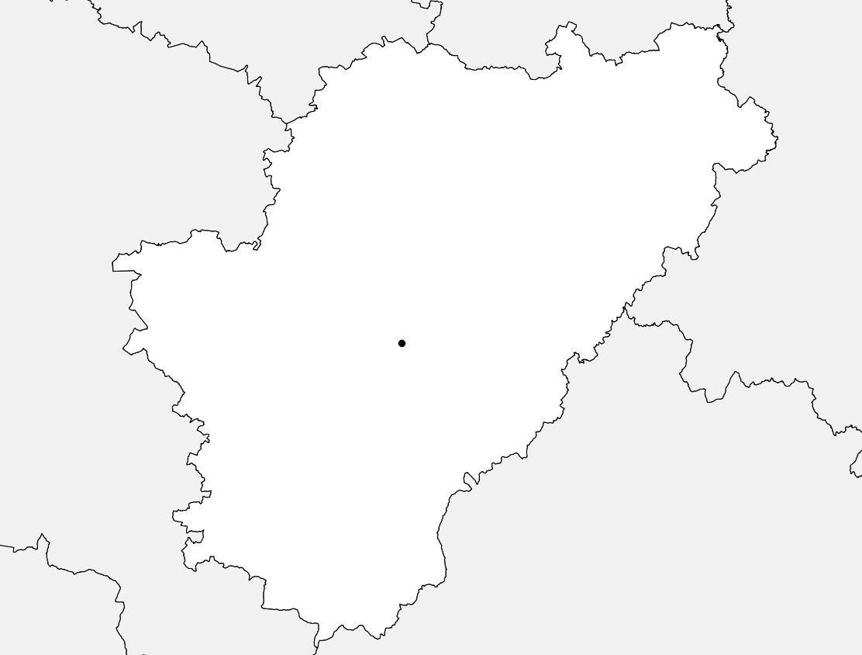 Carte De La Charente - Charente Carte Du Département 16 destiné Carte Département Vierge