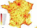 Carte De La Densité De Population 2009 dedans Carte France Avec Region