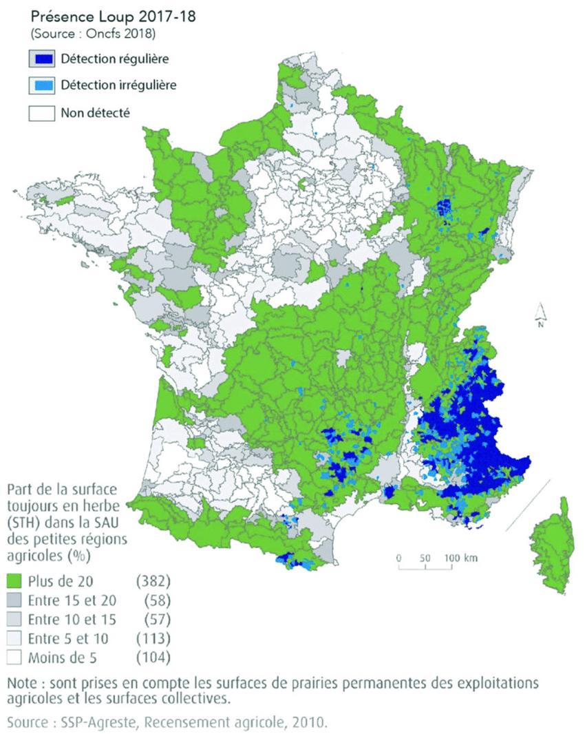 Carte De La France Métropolitaine Superposant La Part De La tout Carte Région France 2017