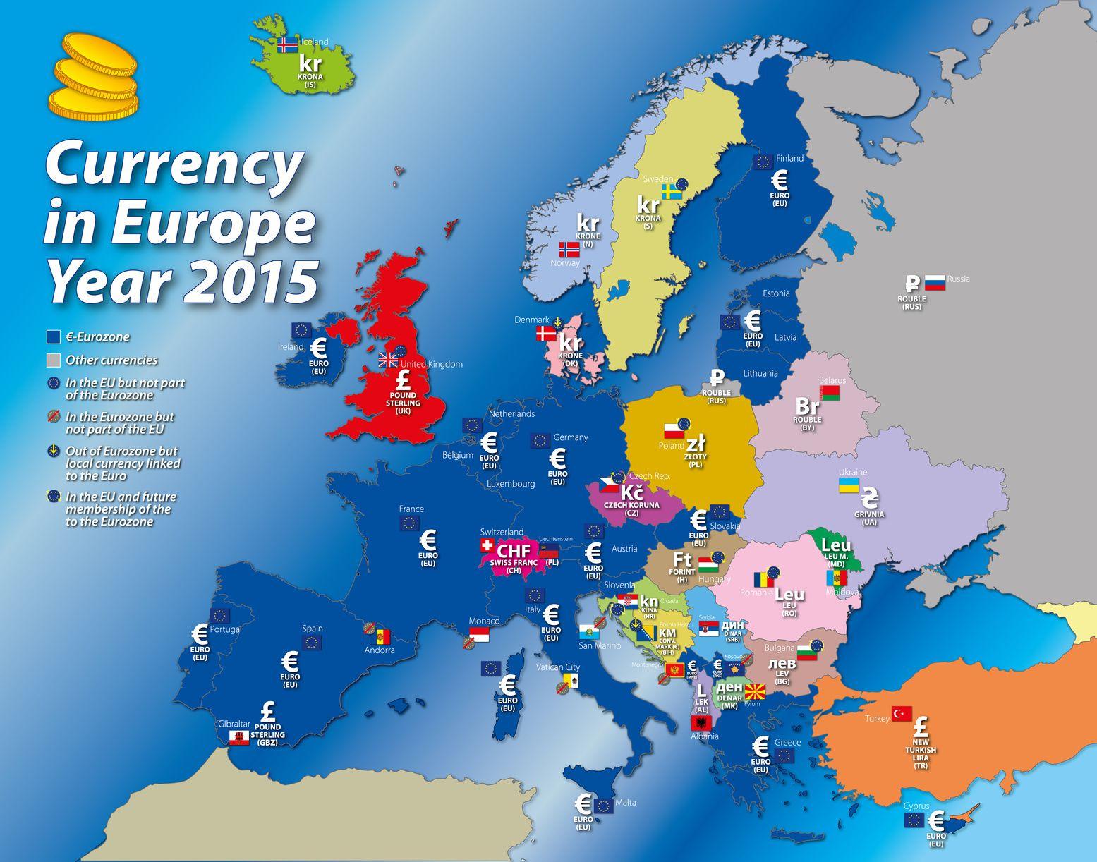 Carte De L'europe - Cartes Reliefs, Villes, Pays, Euro, Ue dedans Carte Union Européenne 2017