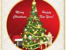 Carte De Voeux De Nouvel An Classique Multilingue. Joyeux Noel Et Bonne  Année! - Italien, Espagnol, Anglais, Allemand Et Français. Imprimer Les avec Carte Joyeux Noel À Imprimer