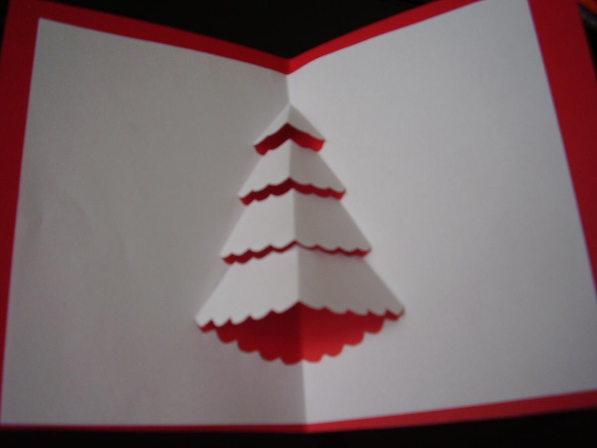 Carte De Voeux Pop-Up Pour Noël - Itinéraire D'une Libellule dedans Decoupage Papier Facile