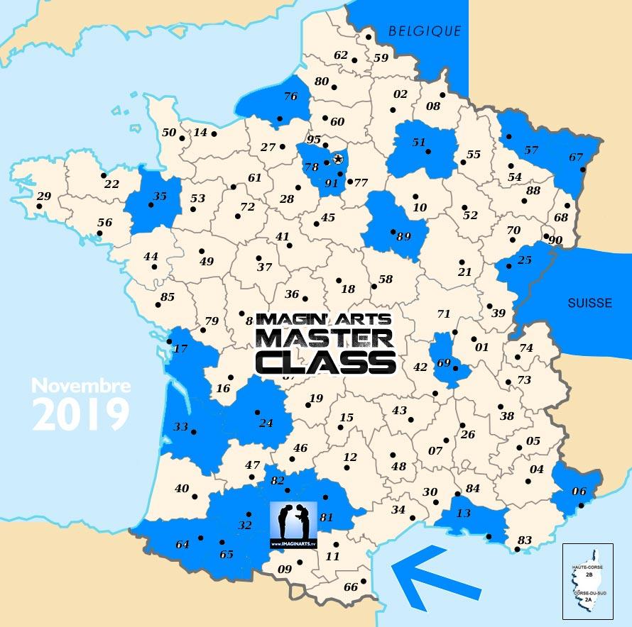 Carte-Departement-2019-08 - En Terre Martiale concernant Département 13 Carte