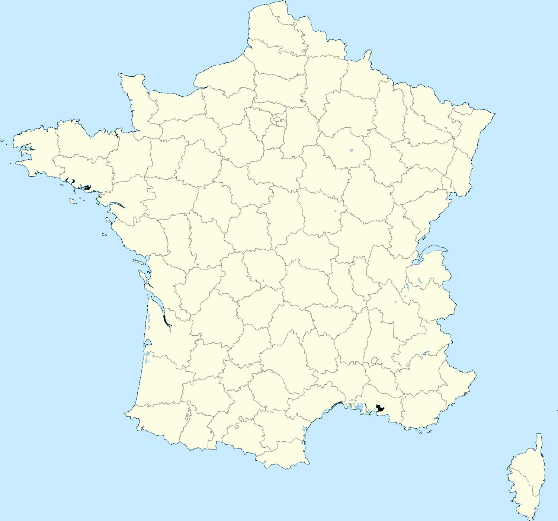 Carte Des Départements De France dedans Carte Departements Francais
