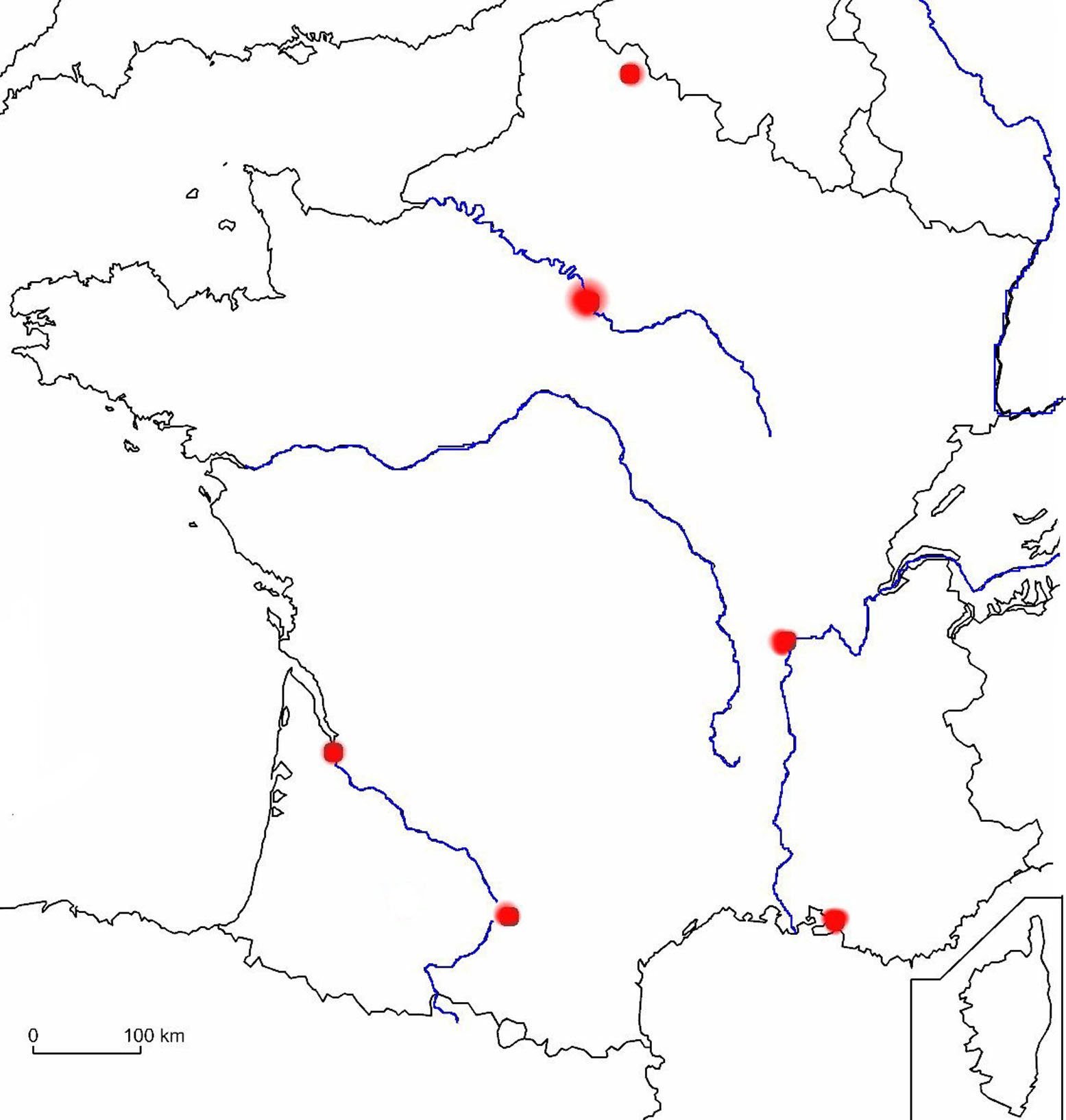 Carte Des Fleuves De France Ce2 | My Blog destiné Carte Des Fleuves En France