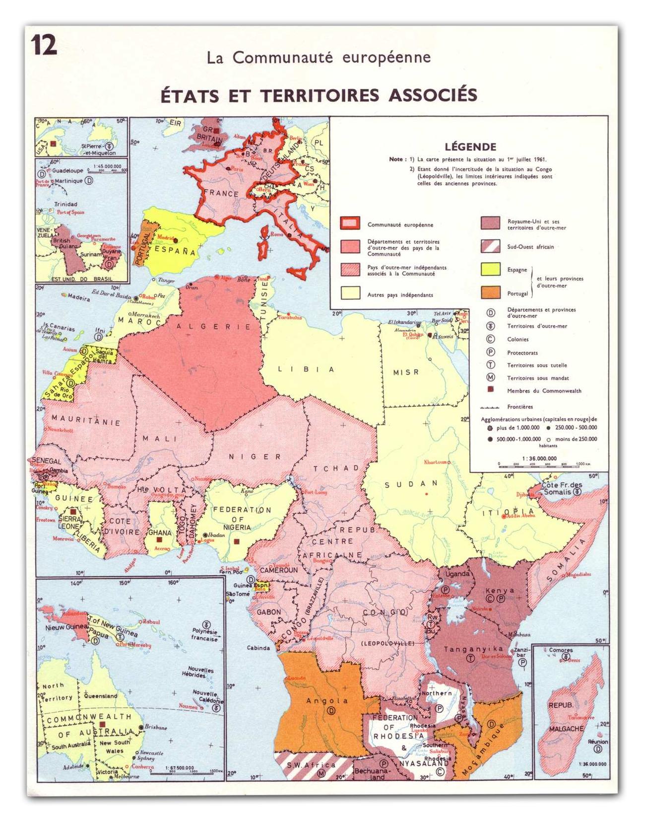 Carte Des Six Et Des Pays Et Territoires D'outre-Mer (Ptom concernant Département D Outre Mer Carte