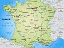 Carte Des Villes De France - Les Plus Grandes Villes Du Pays avec Carte De France Grande Ville