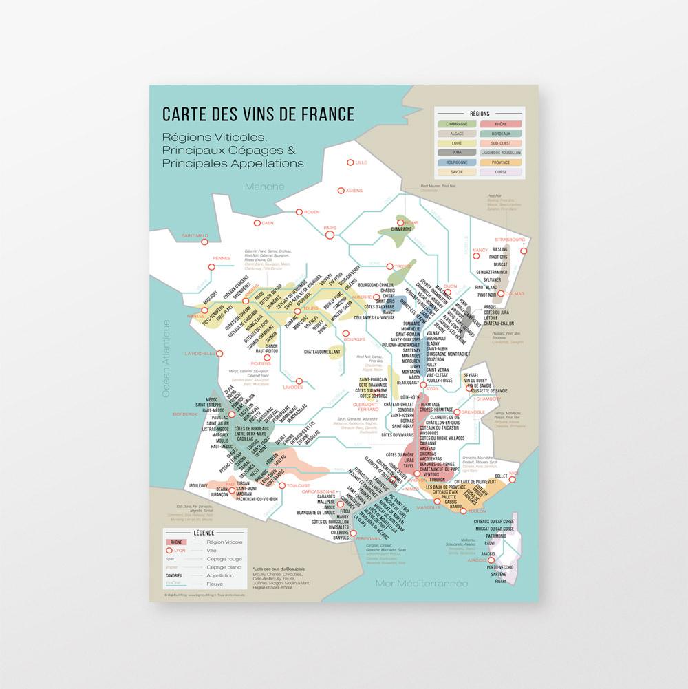 Carte Des Vins De France serapportantà Carte De France Detaillée Gratuite
