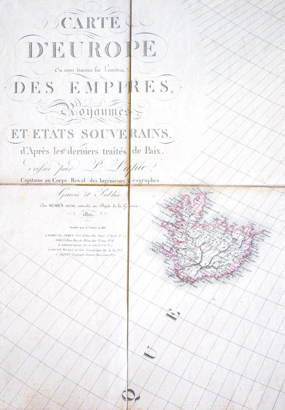 Carte D'europe: Ou Sont Tracées Les Limites Des Empires avec Carte D Europe 2017