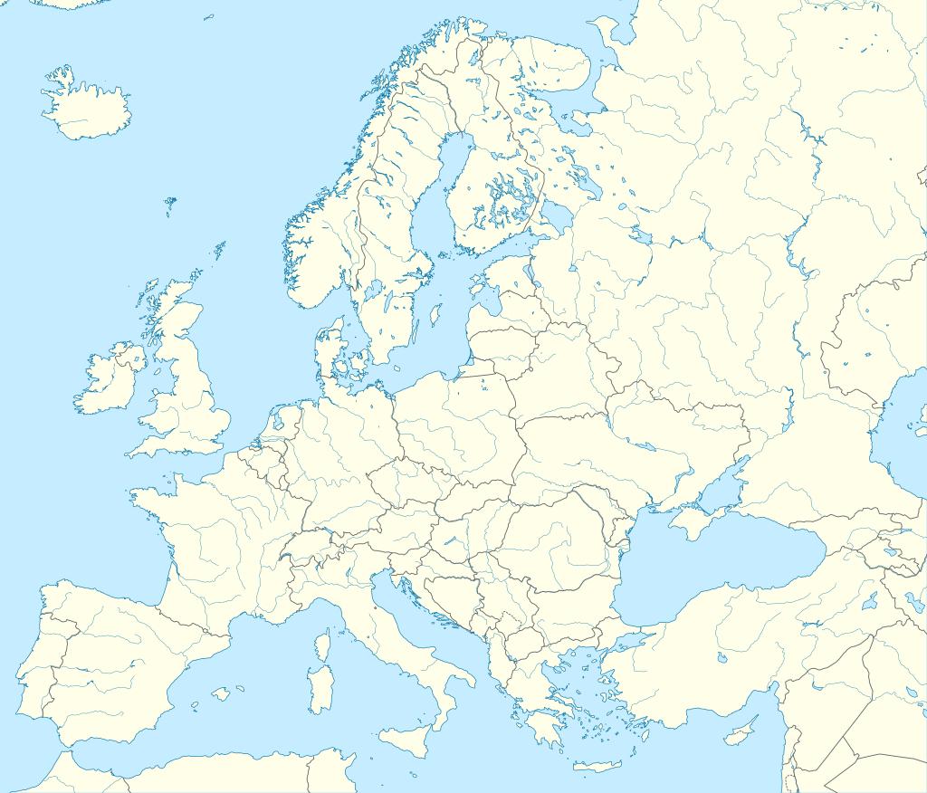 Carte D'europe Vierge Ou Détaillée Avec Capitales - Carte D pour Carte De L Europe Avec Capitale