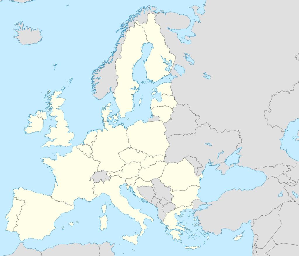 Carte D'europe Vierge Ou Détaillée Avec Capitales - Carte D pour Carte Europe Avec Capitale