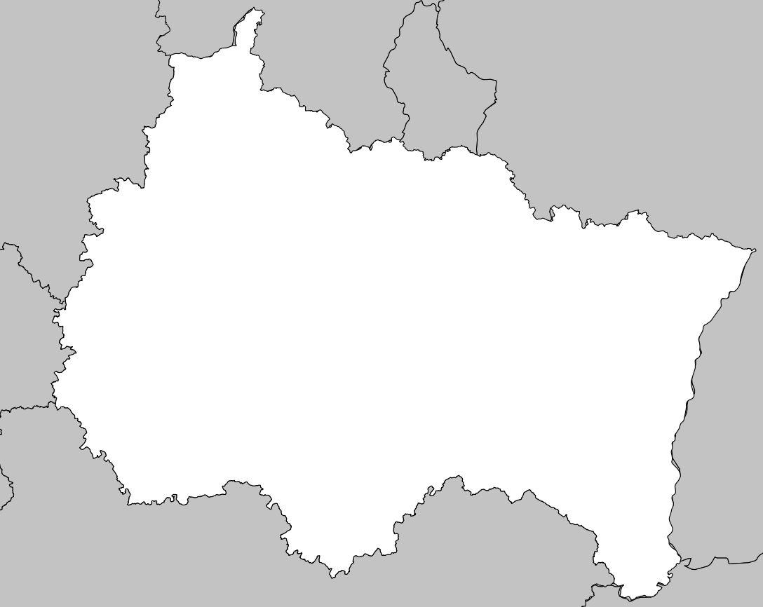 Carte Du Grand Est - Grand Est Carte Des Villes pour Carte De France Vierge Nouvelles Régions