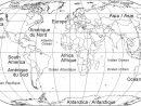 Carte Du Monde Vierge, Carte Du Monde avec Carte Europe Vierge À Compléter En Ligne