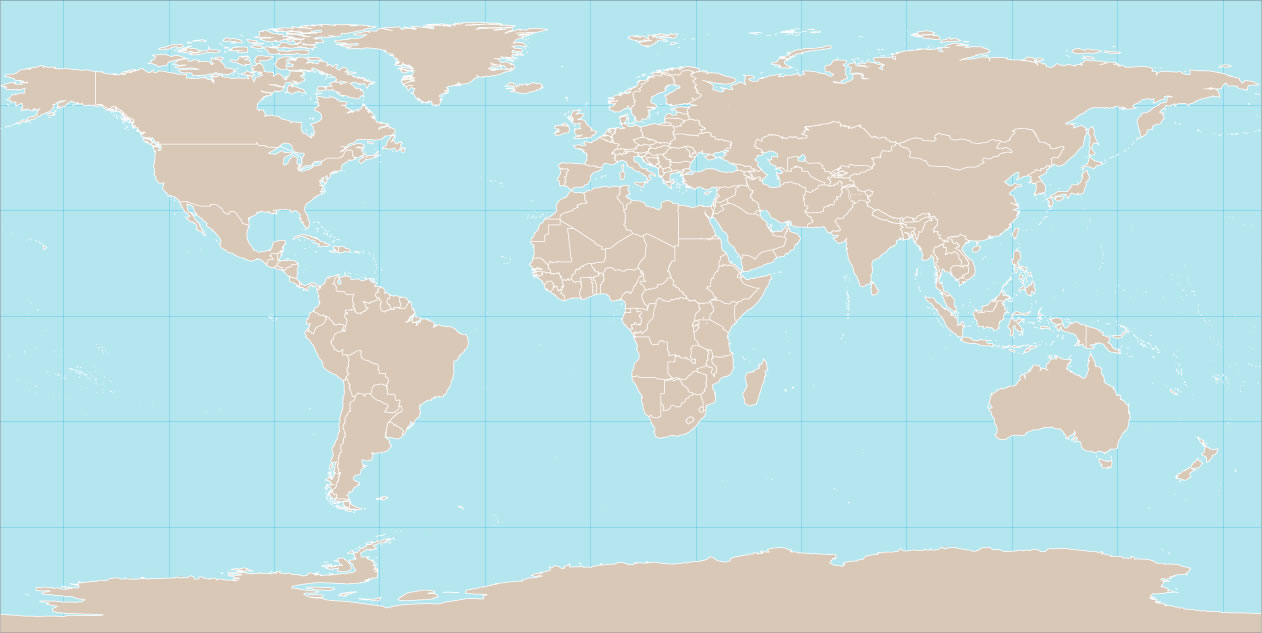 Carte Du Monde Vierge Frontière Pays, La Carte Du Monde à Carte Du Monde Avec Capitale