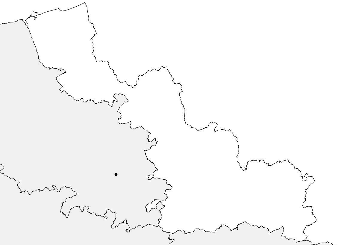 Carte Du Nord - Nord Carte Du Département 59 - Villes, Sites pour Carte Vierge De La France