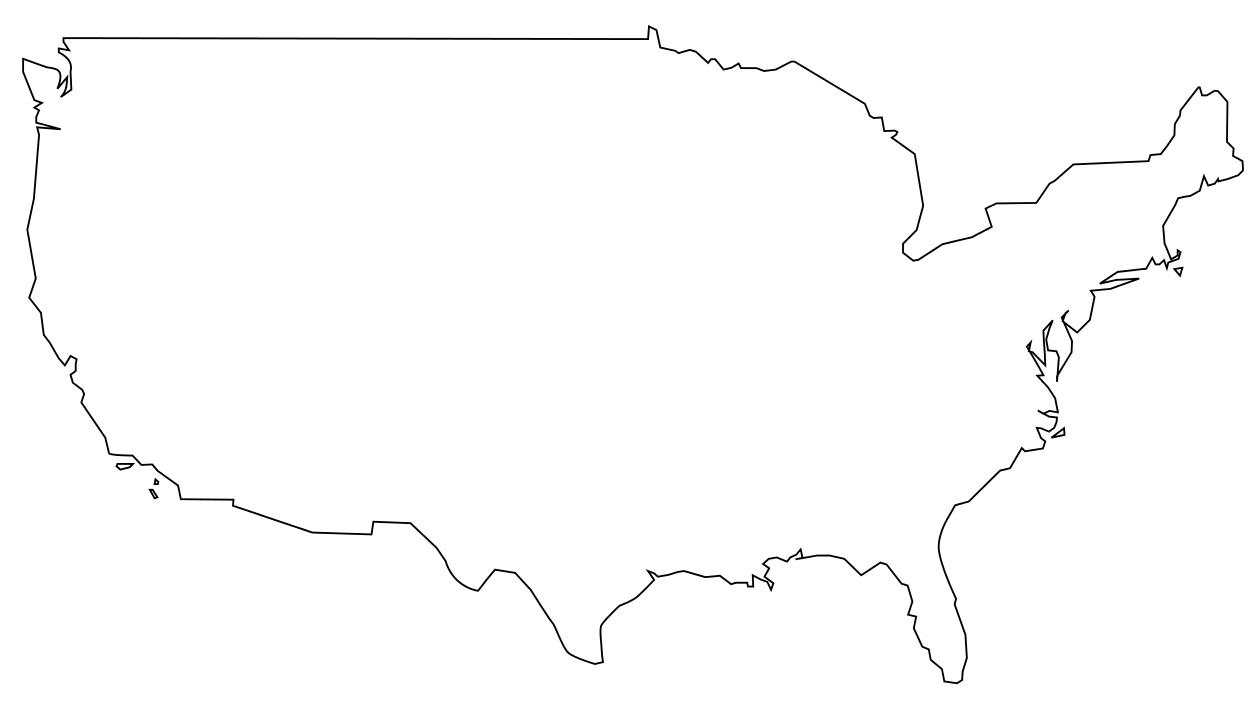 Carte Etats-Unis À Compléter intérieur Carte Des Etats Unis À Imprimer