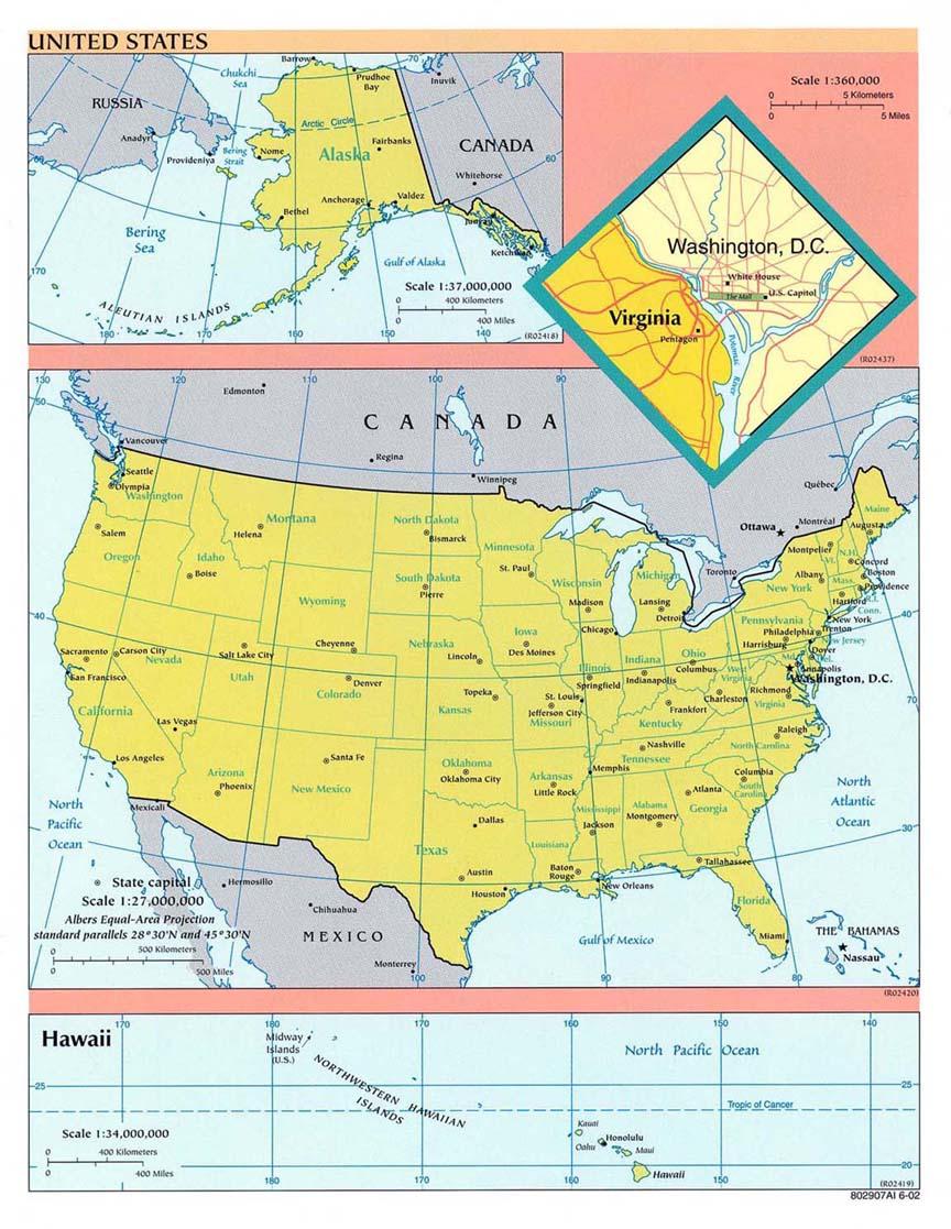 Carte Etats-Unis, Carte De Etats-Unis encequiconcerne Carte Des Etats Unis À Imprimer