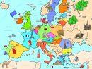 Carte Europe - Géographie Des Pays - Arts Et Voyages concernant Carte Géographique De L Europe