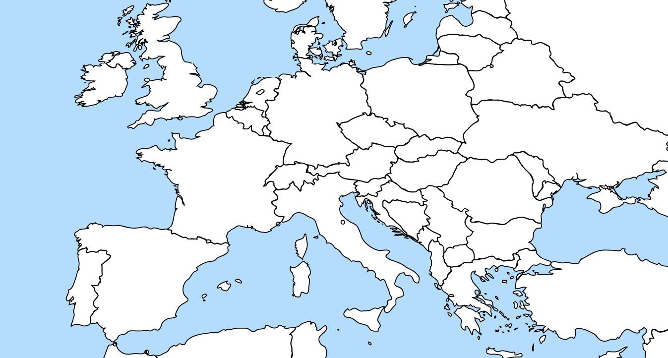 Carte Europe - Tunipellets Sa avec Carte Europe 2017