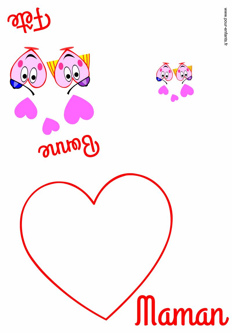 Carte Fete Des Mamans À Imprimer Fête Des Mères Faire Cartes destiné Carte Fête Des Mères À Imprimer