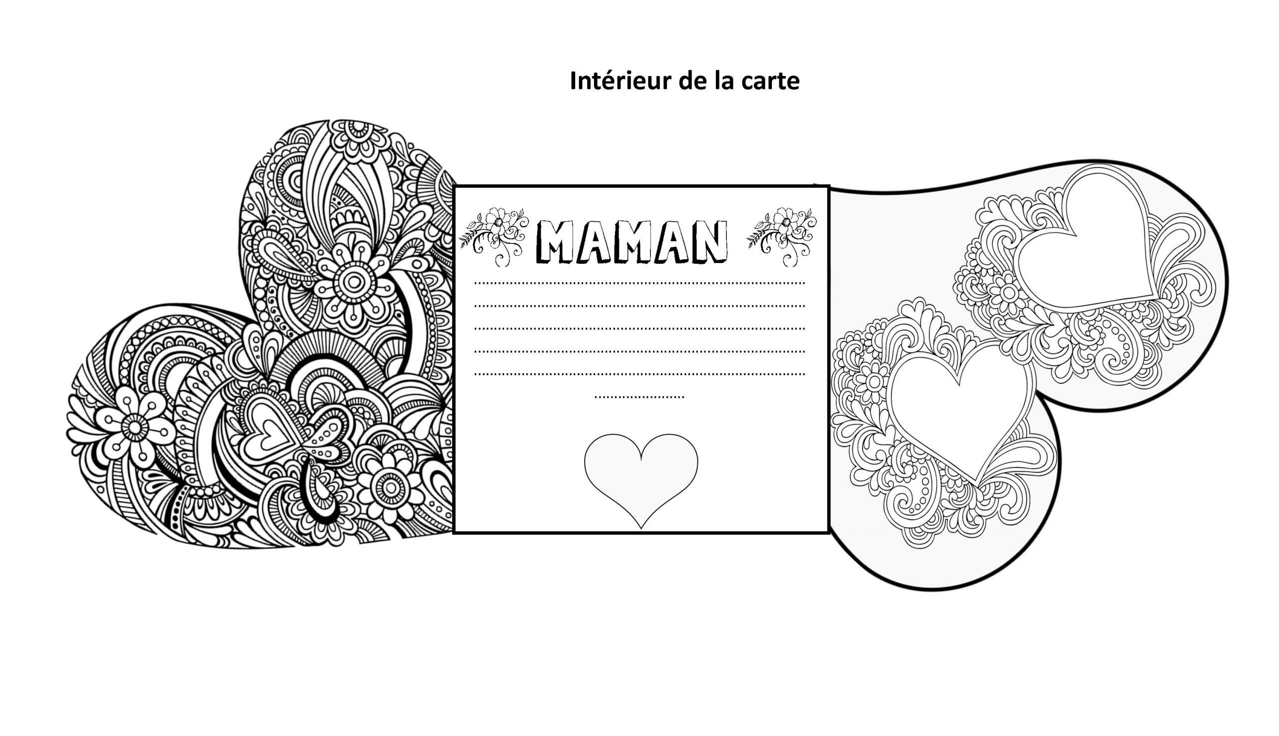 Carte Fête Des Mères Pdf   Le Blog De Monsieur Mathieu dedans Carte A Imprimer Fete Des Meres