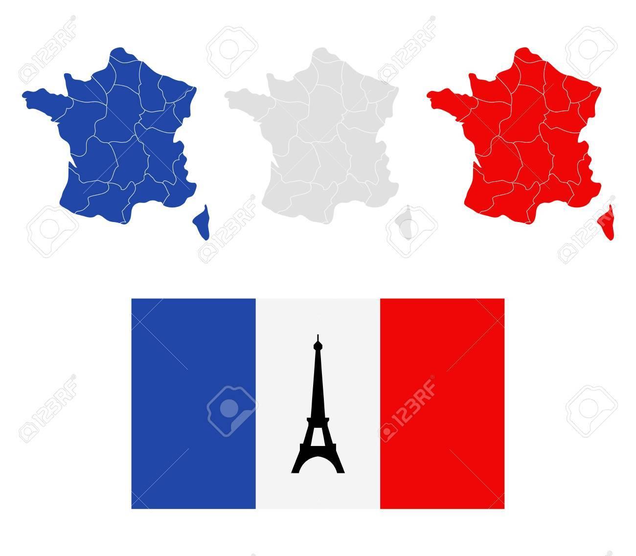 Carte France Avec Les Régions dedans Carte De La France Avec Les Régions