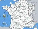 Carte France Départements - Arts Et Voyages pour Carte De France Avec Départements Et Préfectures