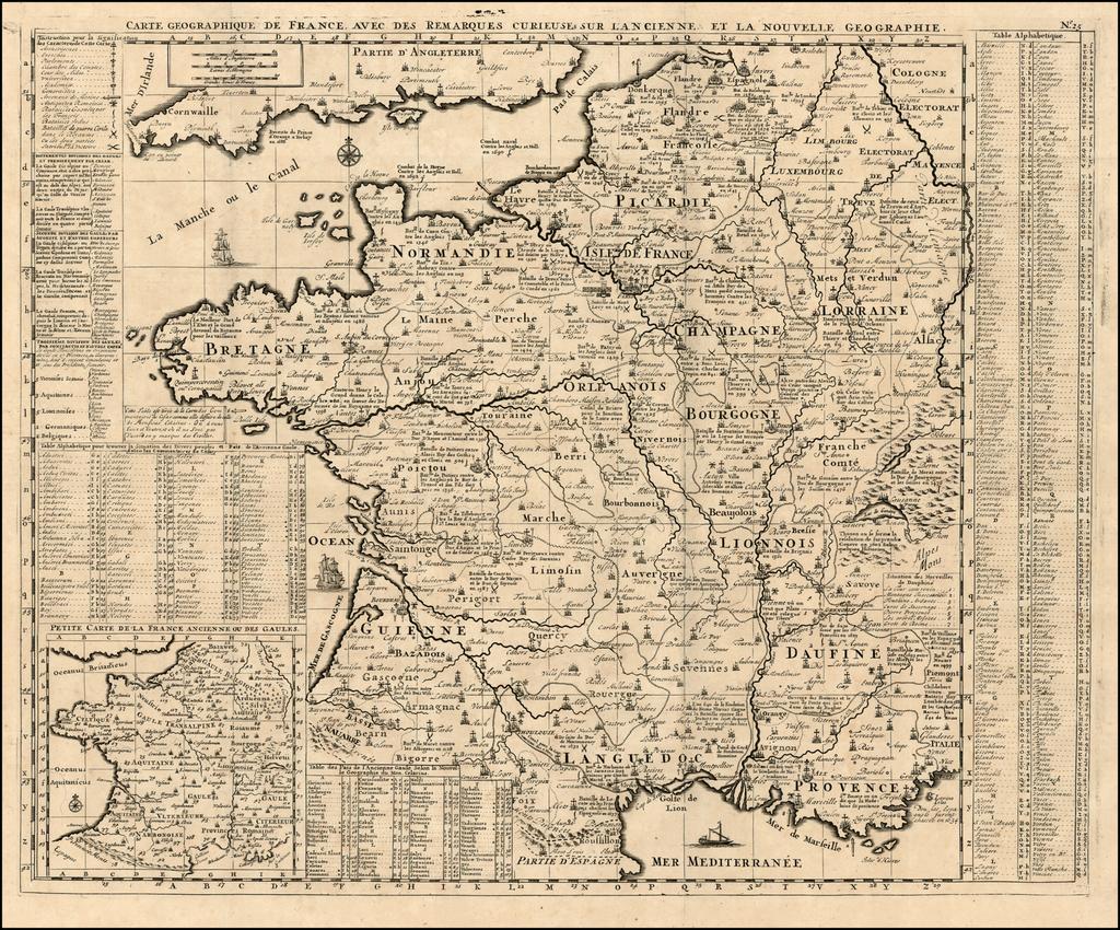 Carte Geographique De France, Avec Des Remarques Curieuses serapportantà Carte Geographique Du France