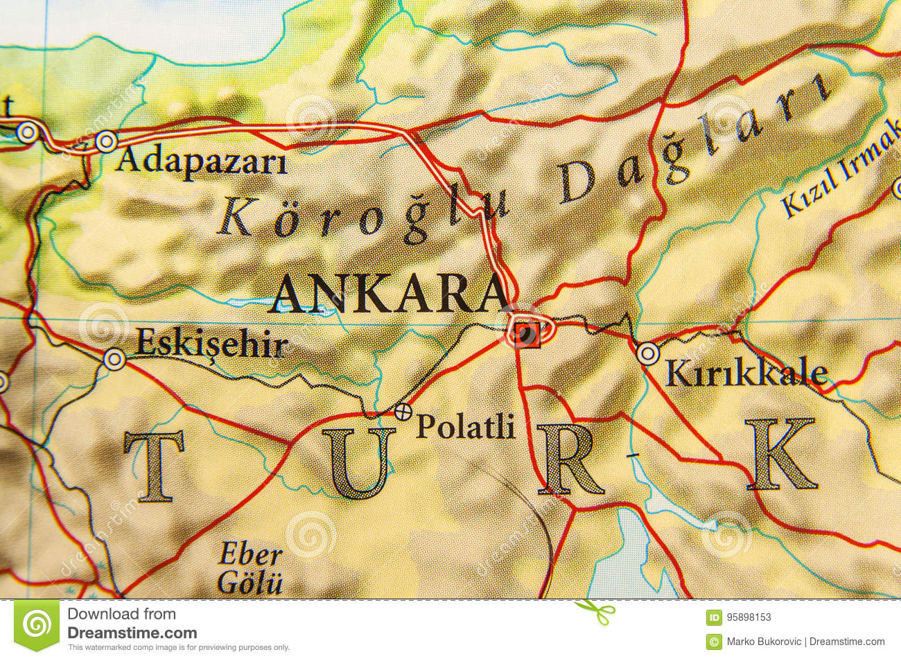 Carte Géographique De Pays Européen Turquie Avec La Capitale dedans Carte De L Europe Avec Capitale